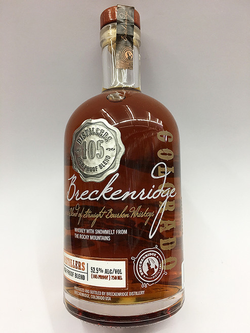Breckenridge 105 Proof Colorado Bourbon