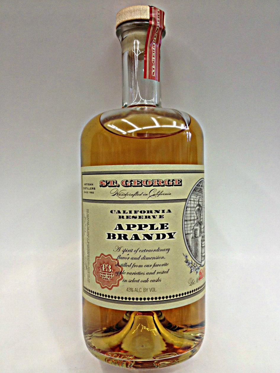 apple brandy. st. george apple brandy