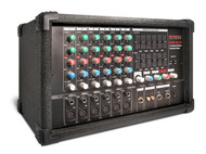SPM-6300 6-channel Powered Mixer, 300 Watts ( Refurbished)