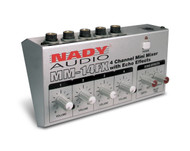 MM-14 FX 4-Channel Mini Mixer w/ Delay ( Manufacturer Refurbished)