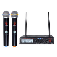 NADY U-2100HT Dual 100-Channel UHF Handheld Wireless Microphone System