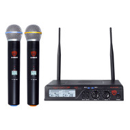 NADY U-2100HT Dual 100-Channel UHF Handheld Wireless Microphone System (Refurbished)