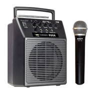 WA-120BT  - Portable Wireless  PA System w/ handheld microphone/BLUETOOTH (Refurbished)