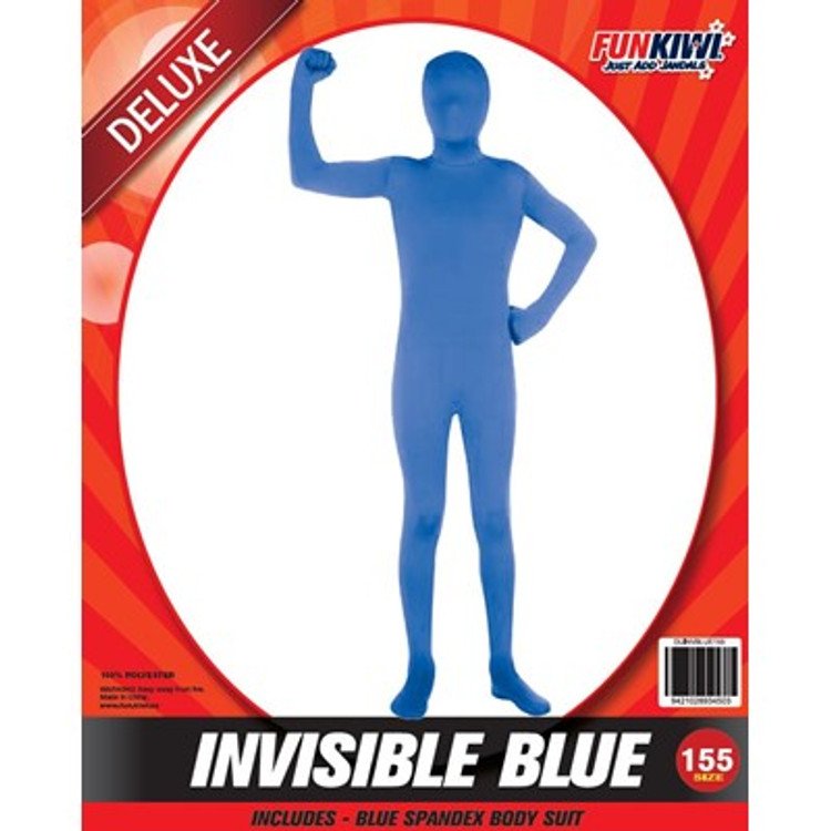 Invisible Blue Kids Costume