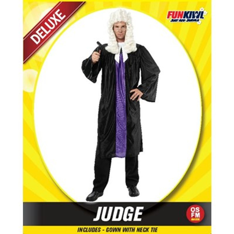 Judge Adult Costume