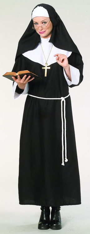 Nun Adult Womens Costume