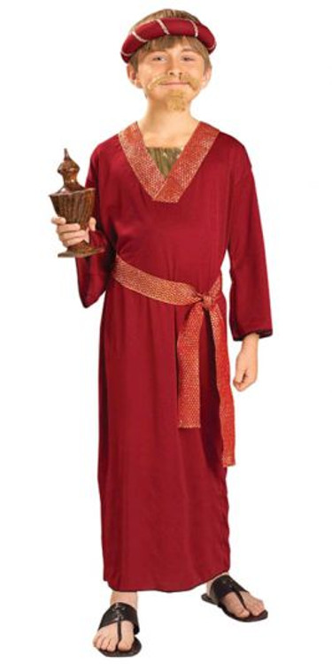 Burgundy Wiseman Child Costume