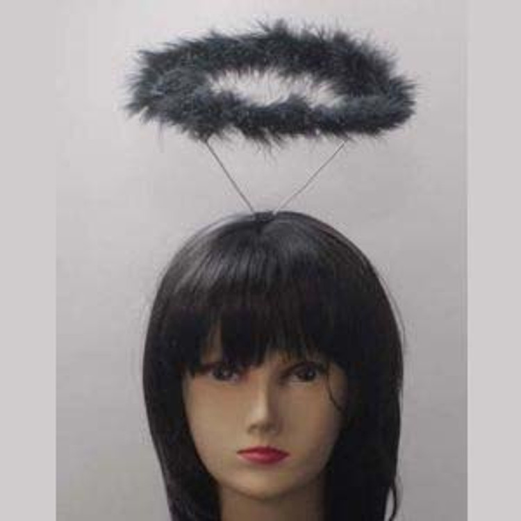 Black Angel Halo Headband