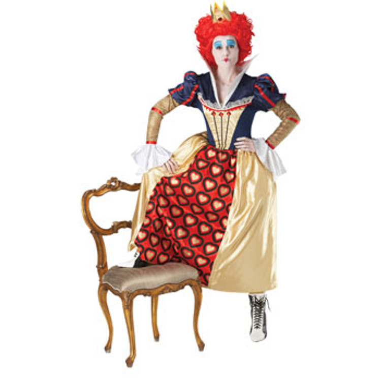 Red Queen of Hearts Alice In Wonderland Womens Costume