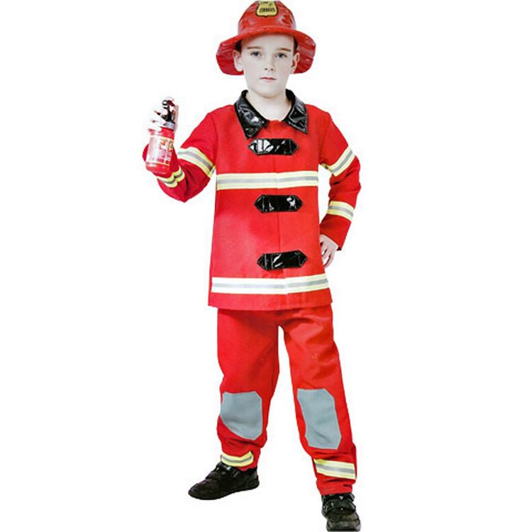 Fireman Boys Costume