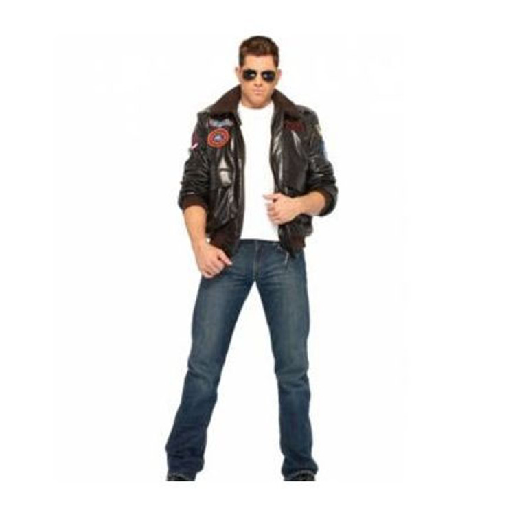 Top Gun Bomber Jacket Mens Costume