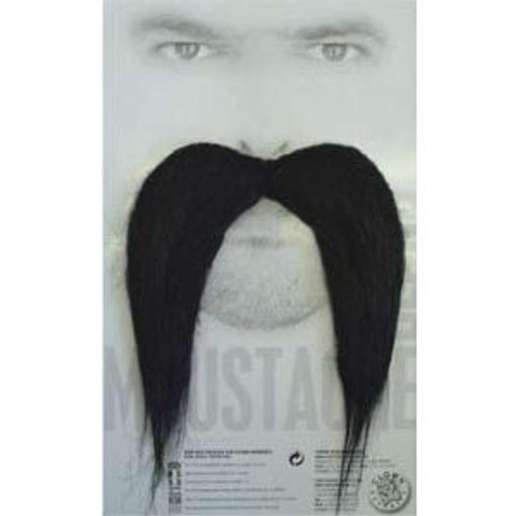 Moustache - long black