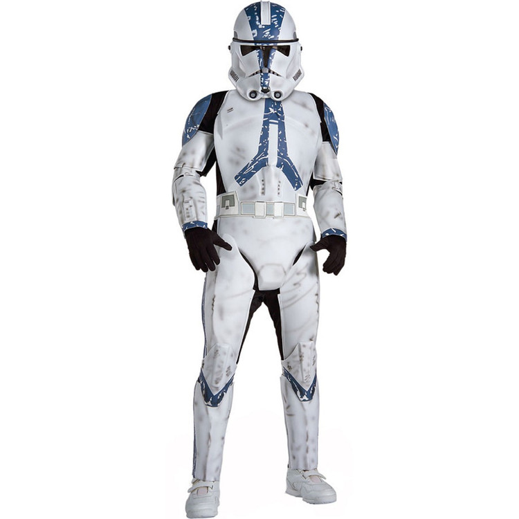 Star Wars - Clone Trooper Deluxe Boys Costume