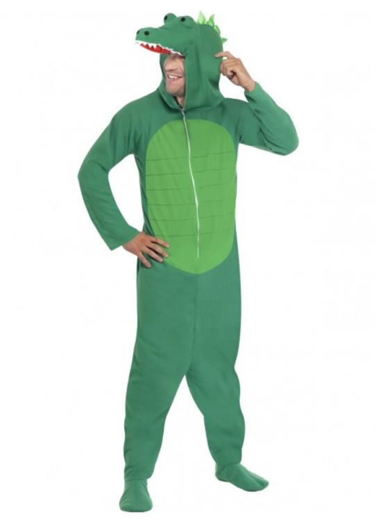Crocodile Onesies Adult Costume
