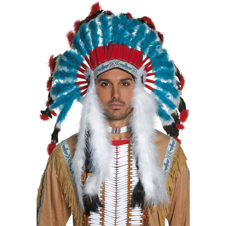 Authentic Western Indian Native American Headdress