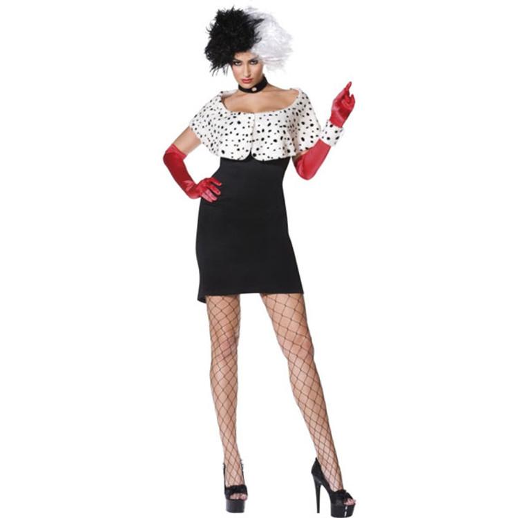 Cruella Sexy Womens Costumes