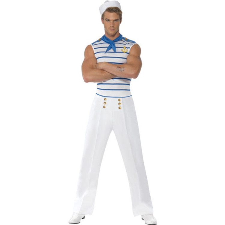 French Sailor Mens Costume