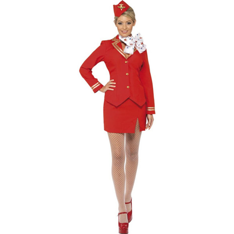 Air Hostess Womens Costume