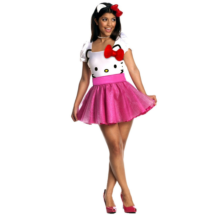 Hello Kitty Womens Costumes