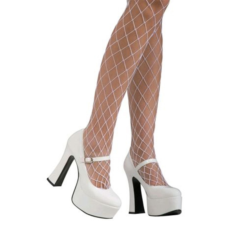 Mary Jane Shoes - White