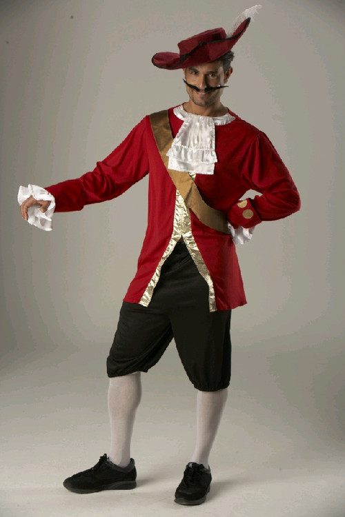 Pirate CAPTAIN HOOK ADULT Costume