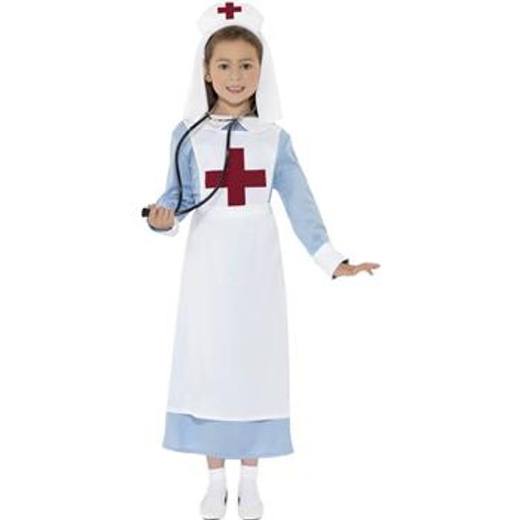 Nurse WW1 Girls Costume