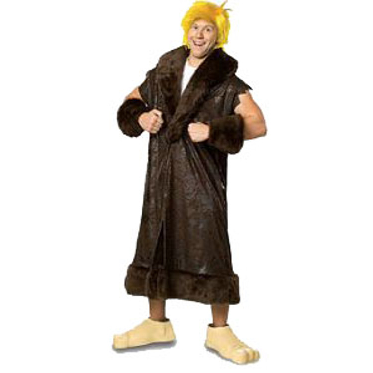 Barney Rubble Mens Costumes - Plus Size