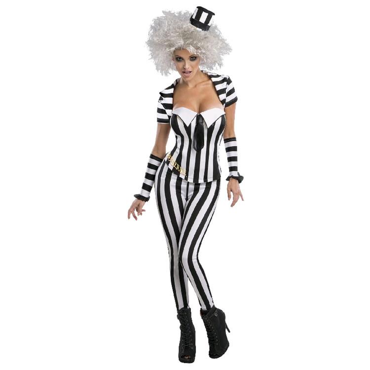 Beetlejuice Corset Womens Costume