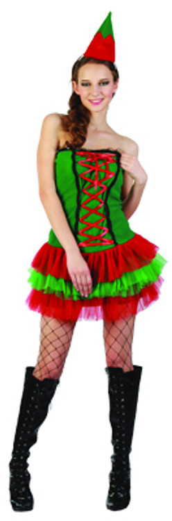 Christmas Elf Cute Women's Costume