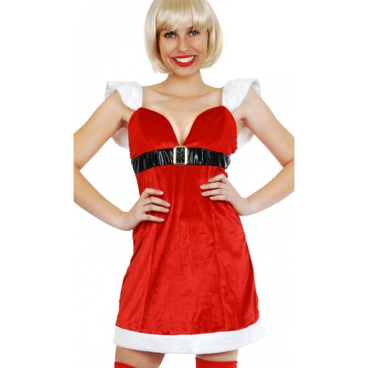 Mrs Claus Christmas Santa Womens Costume