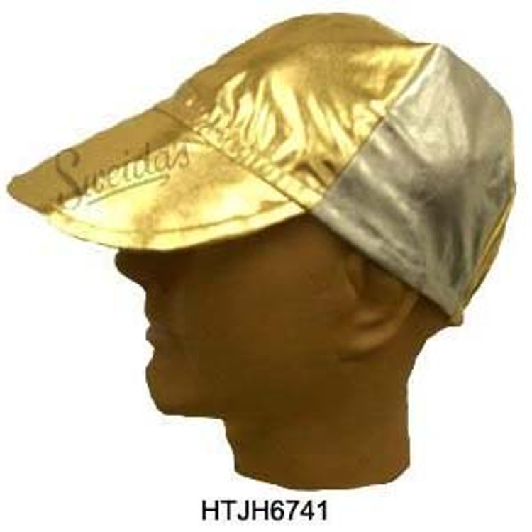 Jockey Hat - Gold Silver