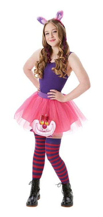 Alice in Wonderland Cheshire Cat Tutu & Accessories Womens Costume