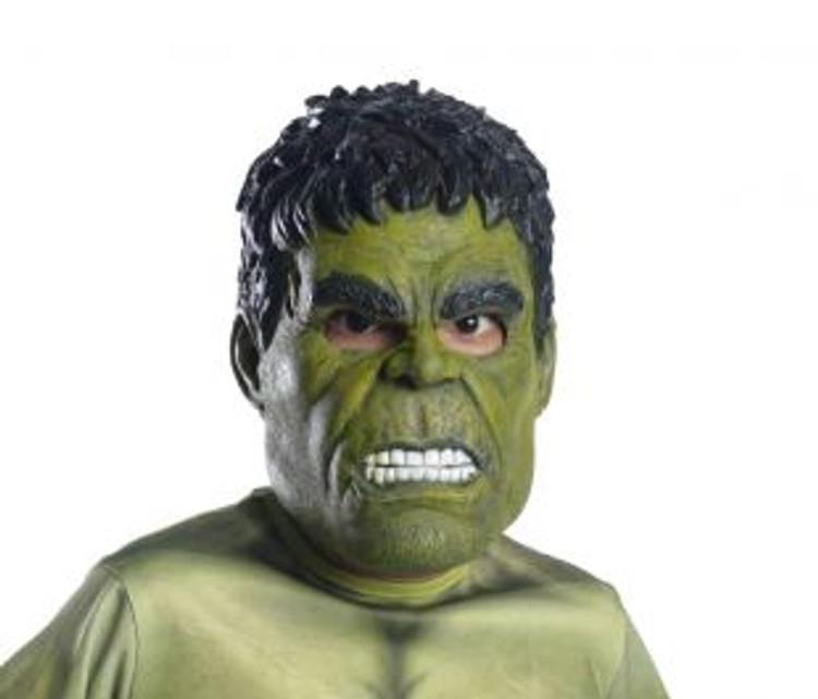 Hulk 3/4 Child Mask
