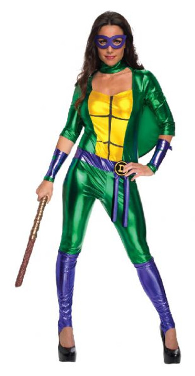 Teenage Mutant Ninja Turtles - Donatello Jumposuit Womens Costume