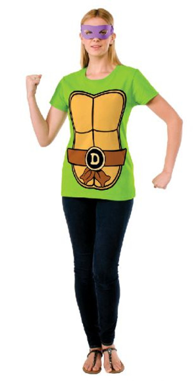 Teenage Mutant Ninja Turtles - Donatello Teashirt Womens Costume