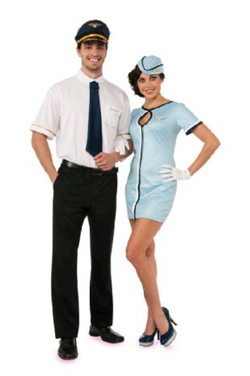 Air Hostess First Class Women's Costume