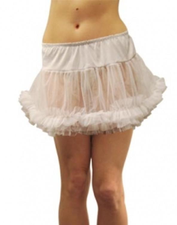 Petticoat Adult White