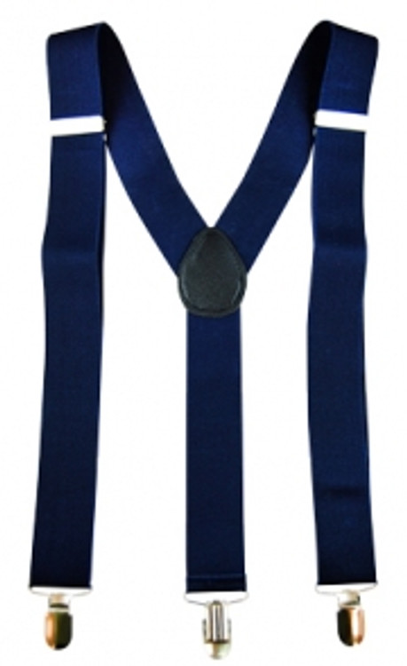 Braces Suspenders - Navy Blue