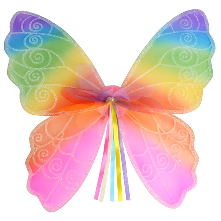 Rainbow Fairy Child Wings