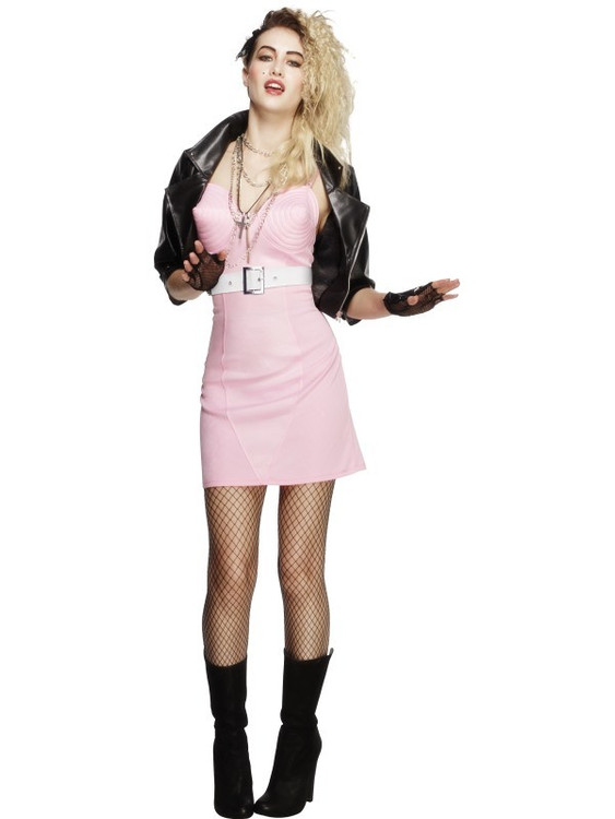80's Rocker Diva Womens Costume