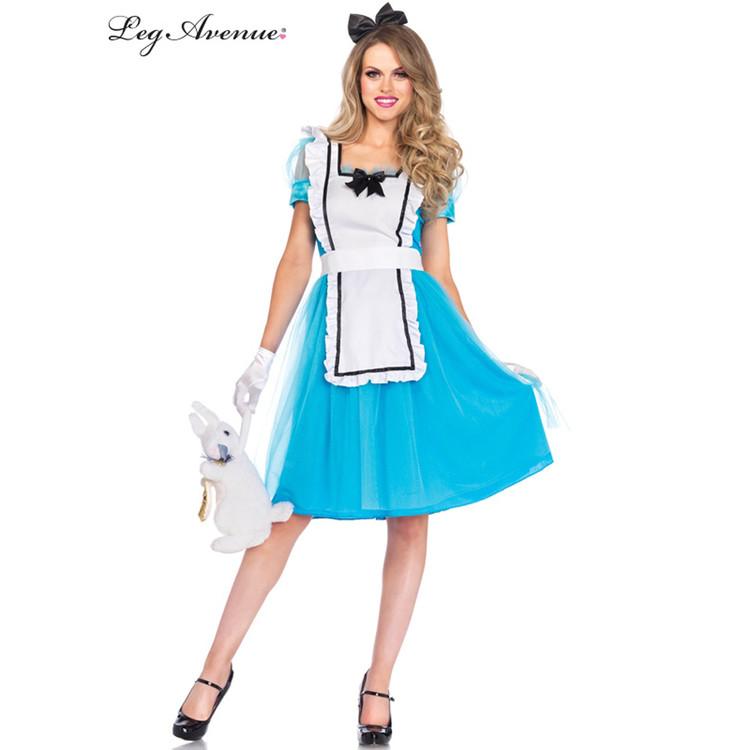 Alice in Wonderland Classic Alice Womens Costume