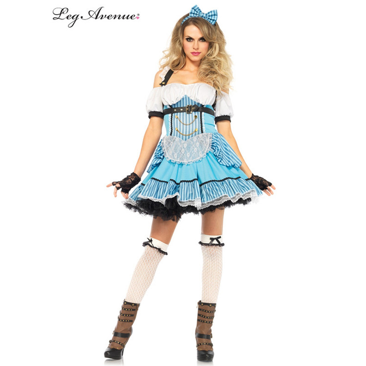 Alice in Wonderland Rebel Alice Womens Costume