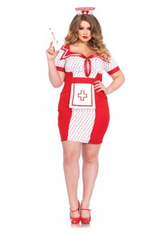 Nurse Bedside Betty Womens Costume Plus Size