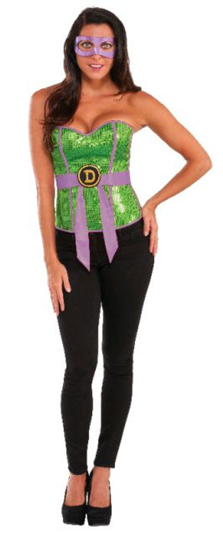 Teenage Mutant Ninja Turtles - Donatello Sequin Corset