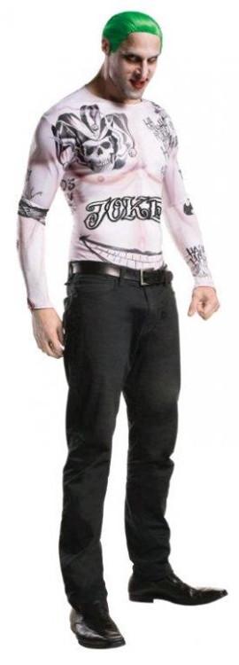 Joker Outfit - Suicide Squad Mens Costume