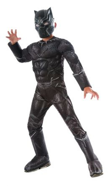 Captain America Civil War Black Panther Boys Costumes