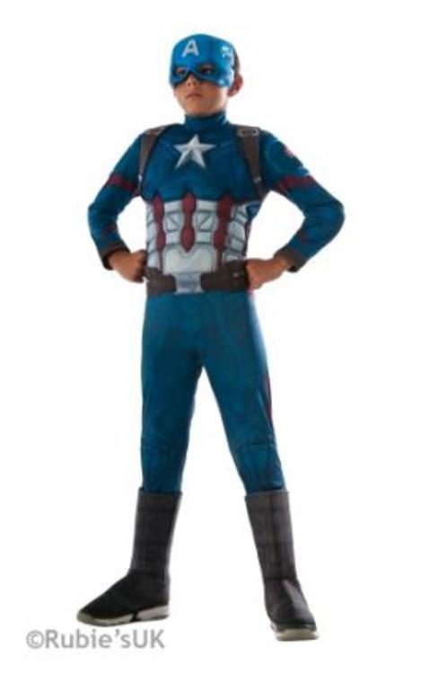 Captain America Civil War Deluxe Boys Costume
