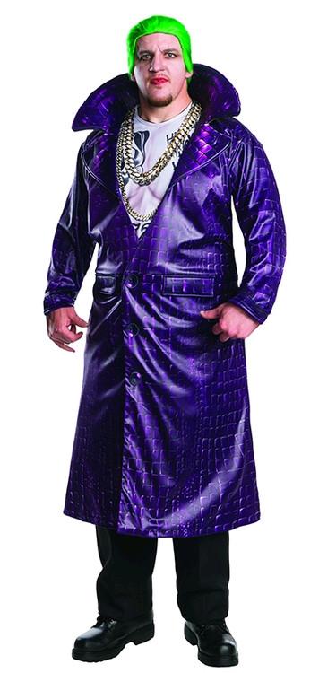 Joker Plus Size Deluxe Costume - Suicide Squad Mens Costume