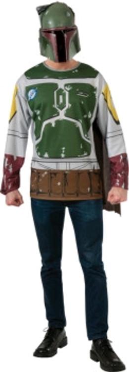 Star Wars - Bobba Fett Mens Shirt & Mask
