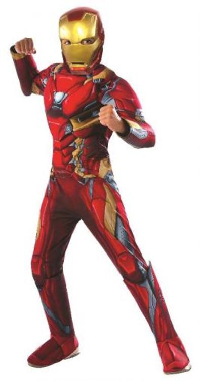 Iron Man Civil War Kids Costume